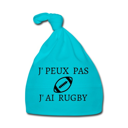 J'peux pas J'ai rugby - Bonnet Bébé