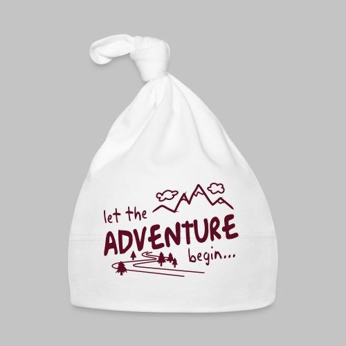 Let the Adventure begin - Baby Cap