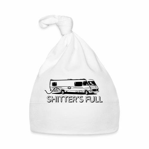 shitters full - Cappellino neonato