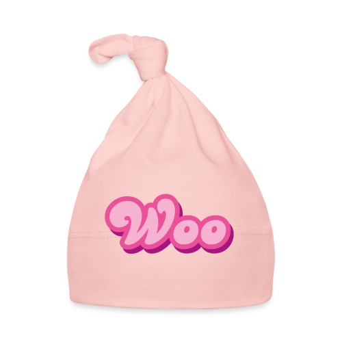 WOO in Pink - Baby Cap