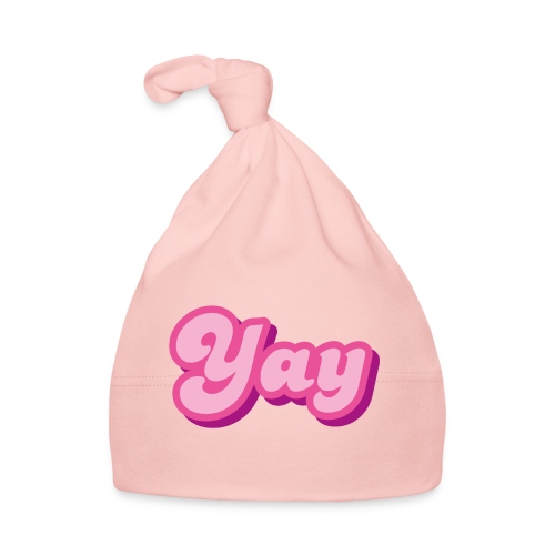 YAY in Pink - Baby Cap
