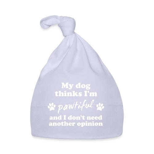 My dog thinks I'm pawtiful - Vauvan myssy