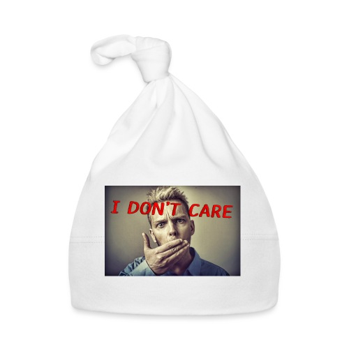 I don't care shirt - Baby Cap