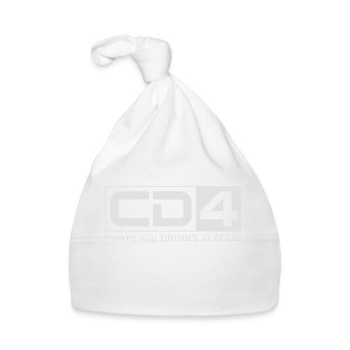 cd4 logo dikker kader bold font - Muts voor baby's