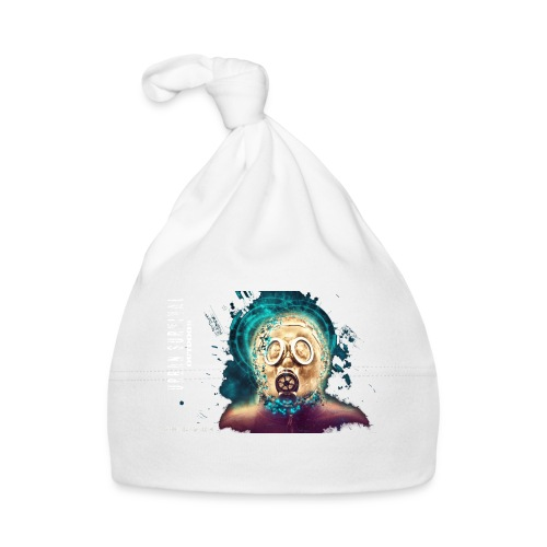 mask white - Baby Mütze