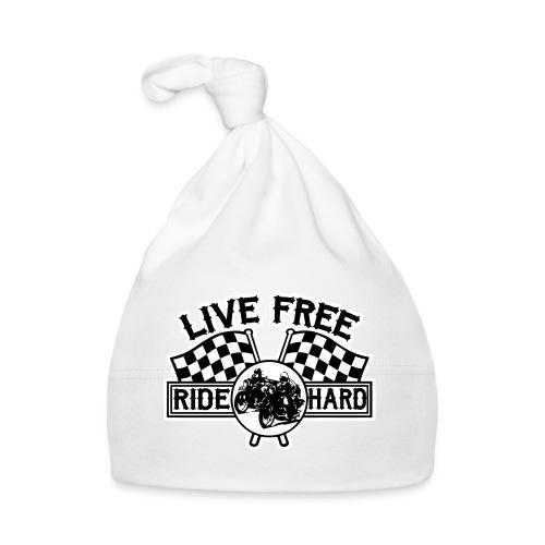 Live Free Ride Hard - Gorro bebé