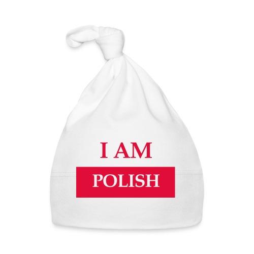 I am polish - Czapeczka niemowlęca