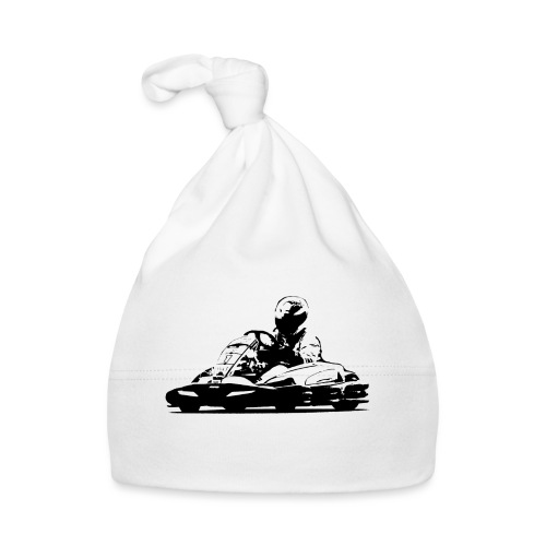 Kart Silhouette T-Shirt - Baby Cap