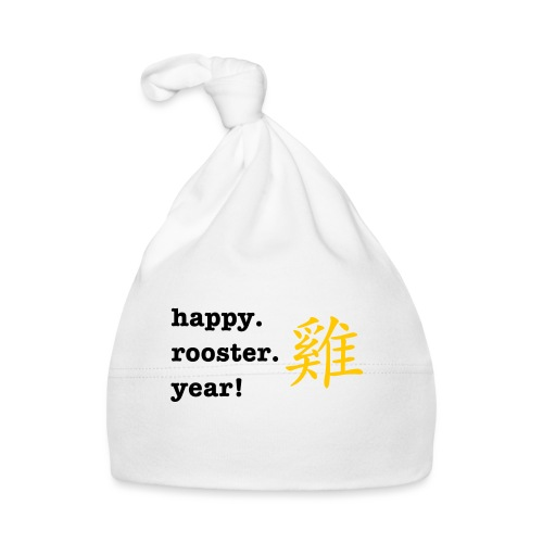 happy rooster year - Baby Cap