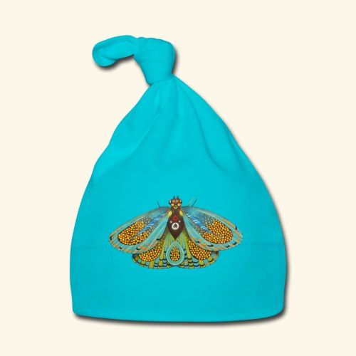 Psychedelic butterfly - Cappellino neonato