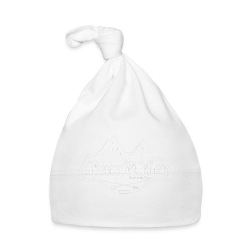 Alpenpfeilchen - Logo - white - Baby Mütze
