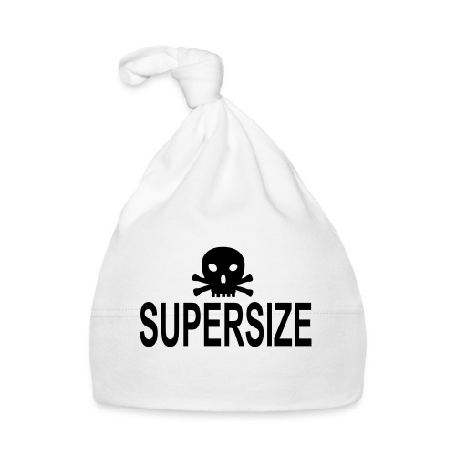 supersize skull totenkopf - Baby Mütze