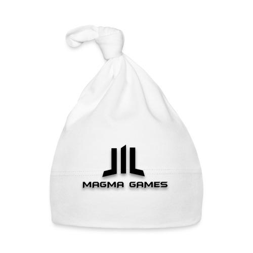 Magma Games sweater grijs met zwart logo - Muts voor baby's
