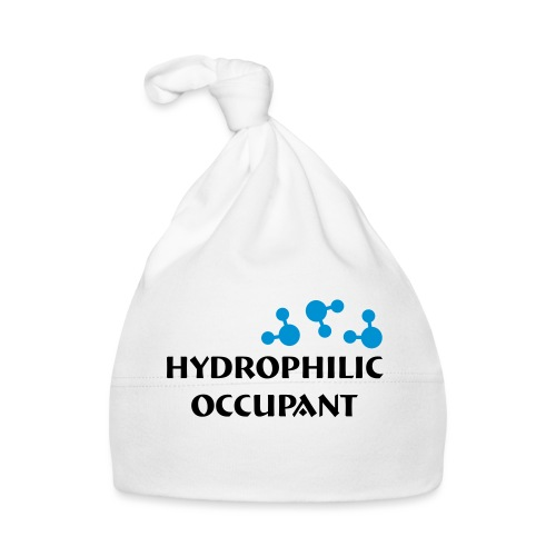 Hydrophilic Occupant (2 colour vector graphic) - Baby Cap
