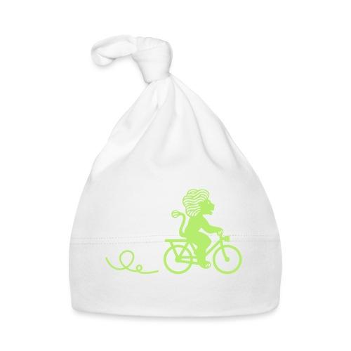 Züri-Leu beim Velofahren ohne Text - Baby Mütze