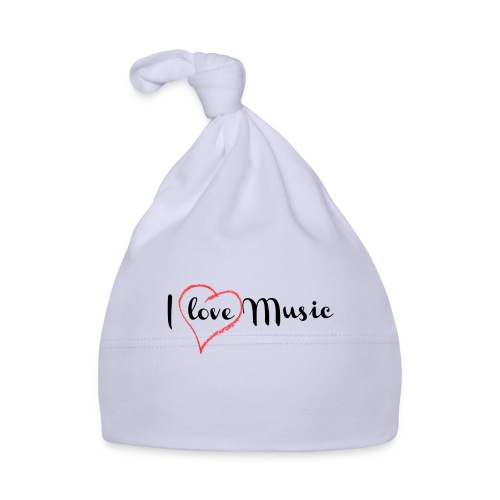 I Love Music - Cappellino neonato