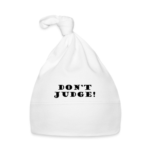 Kids Don't Judge T-Shirt - Baby Cap