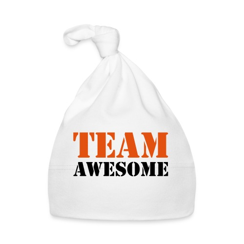 Team awesome - Baby Cap