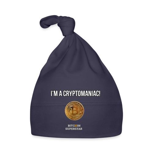 I'm a cryptomaniac - Cappellino neonato