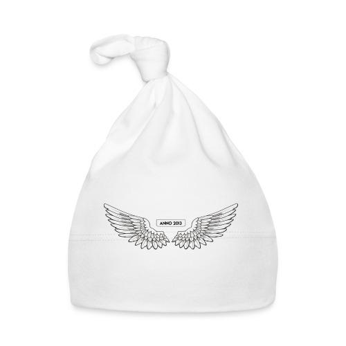 T SHIRT logo wit png png - Muts voor baby's