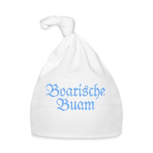 Boarische Buam Männer aus Bayern (Vintage Blau) - Baby Mütze