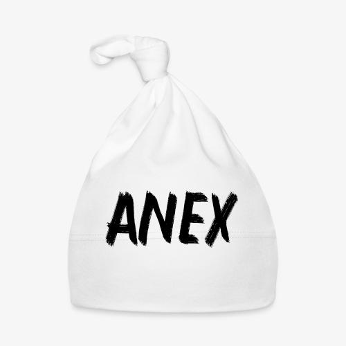V-neck T-Shirt Anex black logo - Baby Cap