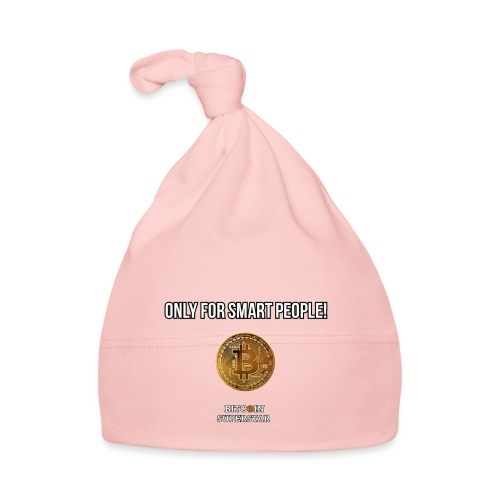 Only for smart people - Cappellino neonato