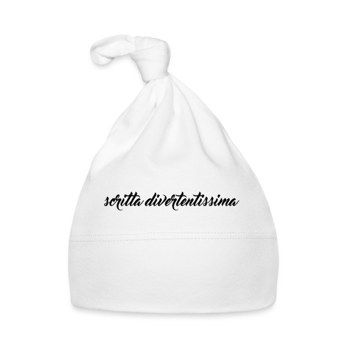SCRITTA DIVERTENTE - Cappellino neonato