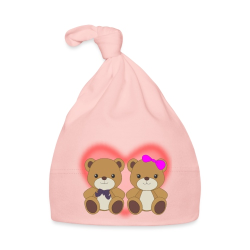 Orsetti con cuore - Cappellino neonato