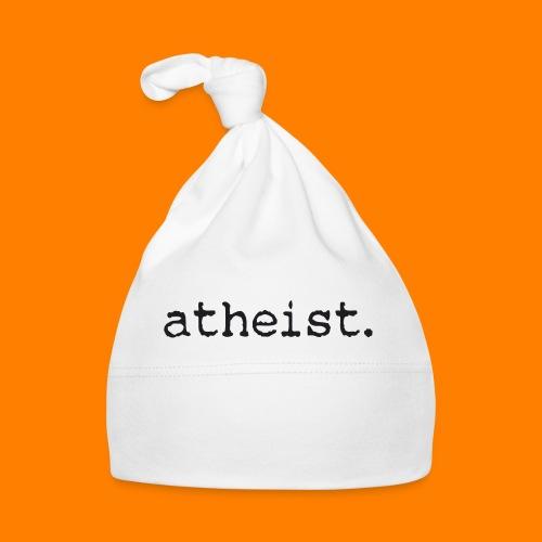 atheist BLACK - Baby Cap