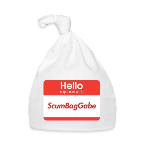Hello My Name Is ScumBagGabe - Baby Cap