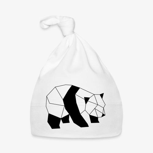 Panda geometrisch - Baby Mütze