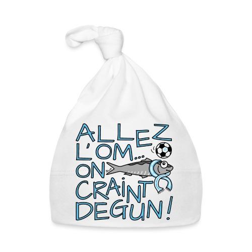 Allez l'OM, On Craint Degun, Foot Marseille - Bonnet Bébé