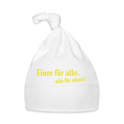 Kinder Kapuzenpullover Einer für alle .... - Baby Mütze