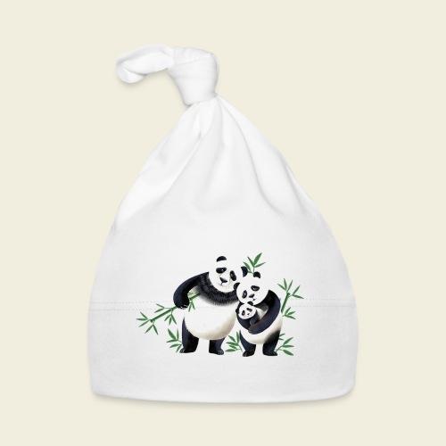 Pandafamilie Baby - Baby Mütze