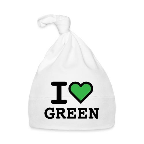 i-love-green-2.png - Cappellino neonato