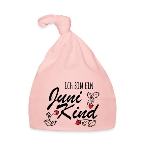 Juni Geburtstag Kind Shirt lustiges Geschenk - Baby Mütze