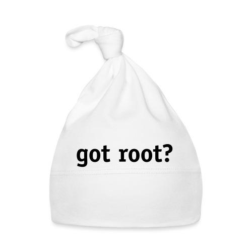 got root? - Baby Cap
