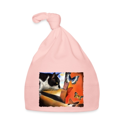 Il gatto di Dalí - Cappellino neonato