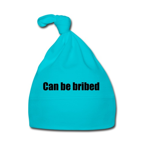 Can be bribed - Baby Cap