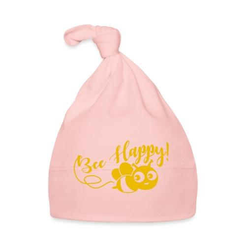 bee happy geel - Muts voor baby's