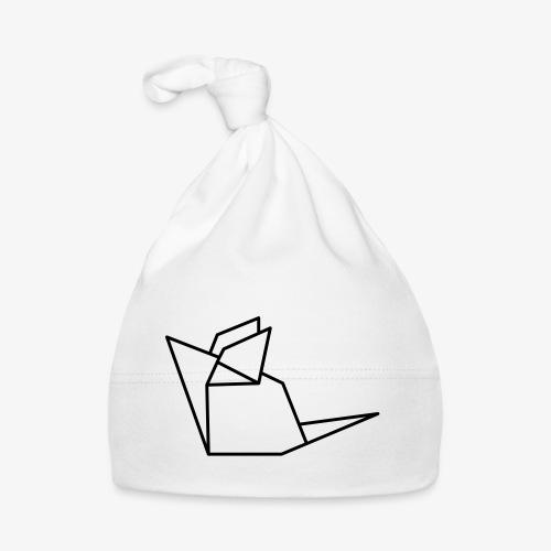 Maus Mäuschen Origami - Baby Mütze