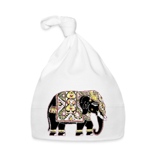 Indian elephant for luck - Baby Cap