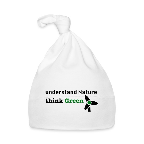 Understand Nature. Think Green! - Baby Cap