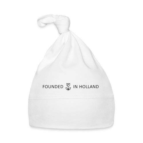logofoundedinholland - Baby Cap