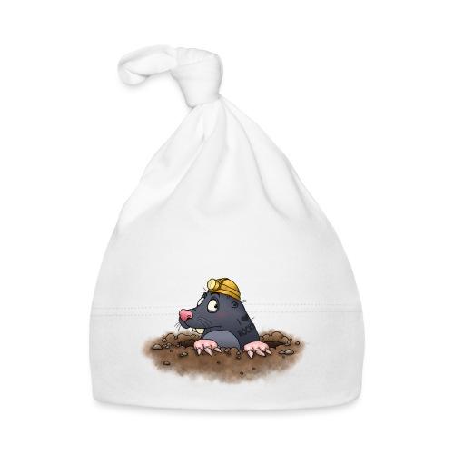 Maulwurf - Baby Mütze