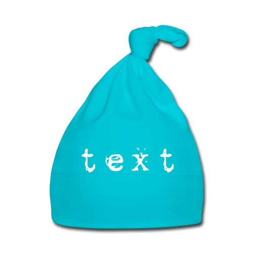 text - Baby Mütze