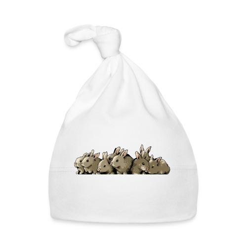 Lapins gris - Bonnet Bébé