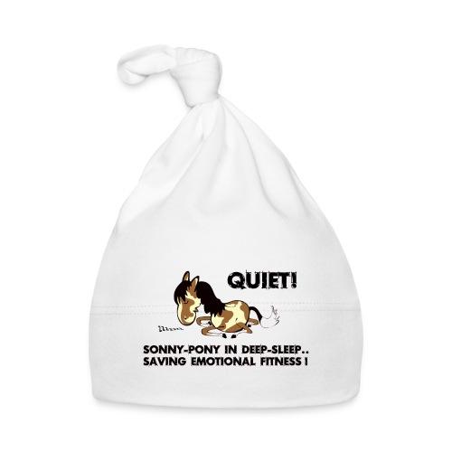 QUIET Sonny Pony in deep sleep - Baby Mütze