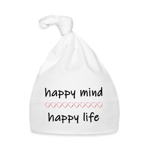 happy mind - happy life - Baby Mütze